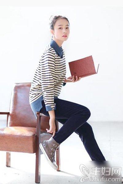 资讯生活春季时髦条纹衣搭配 显瘦又减龄双管齐下